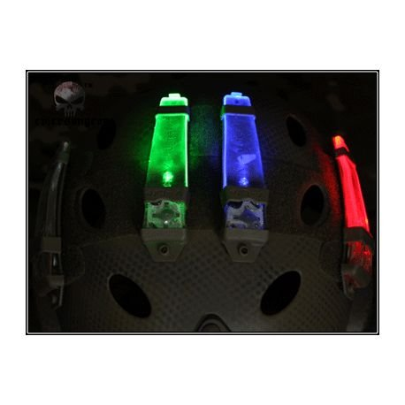 Lampe Posittionnement / V-Lite Distress Marker Vert (Emerson)