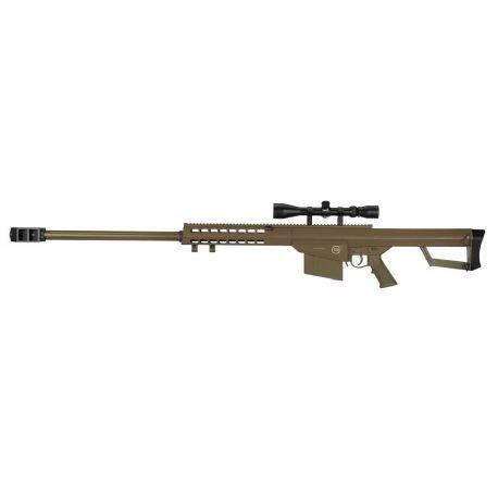 LT-20 Sniper M82 w/ Lunette 4x40 Desert (Lancer Tactical)
