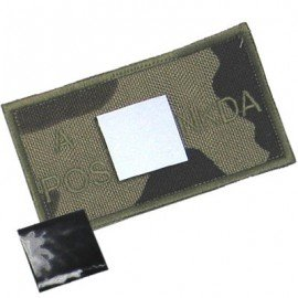 King Arms Patch Sanguin A+ Woodland (King Arms) HA-KAPCHADWDL Patch en tissu