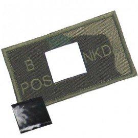 King Arms KING ARMS PATCH WOODLAND B POS HA-KAPCHB-WDL Patch en tissu
