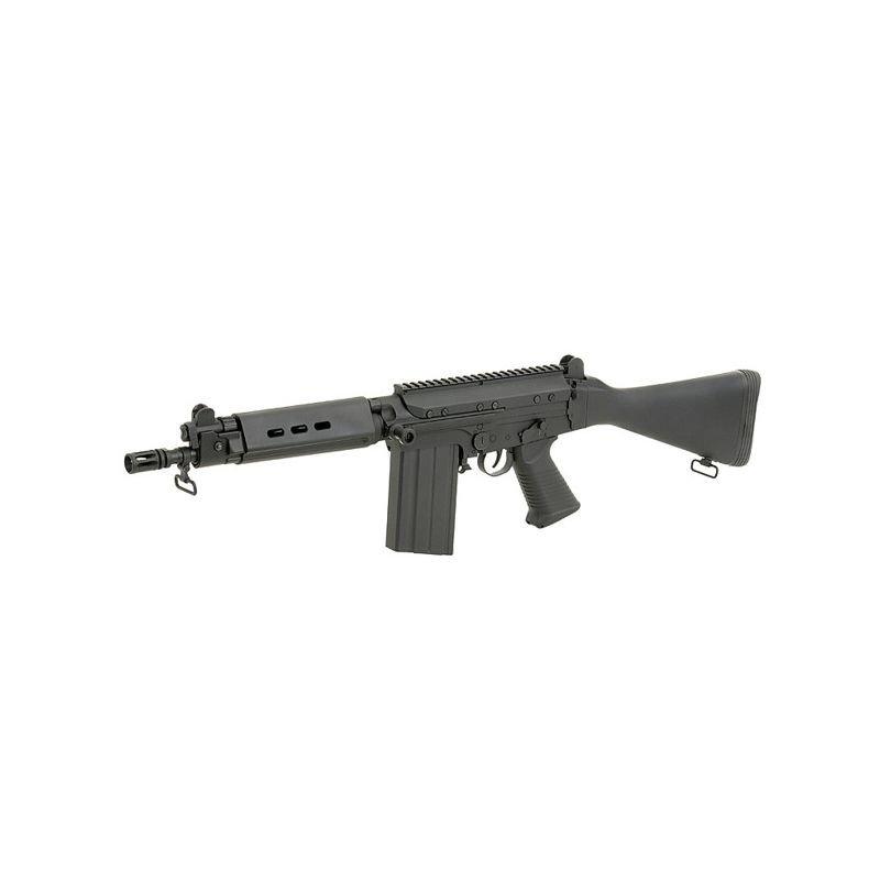 Airsoft AGM Chargeur STG44 MP44 M/étal 550 billes Noir