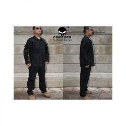 Uniforme Combat Set Noir Taille S (Emerson)