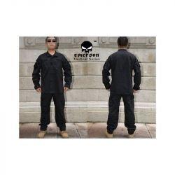 Uniforme Combat Set Noir Taille L (Emerson)