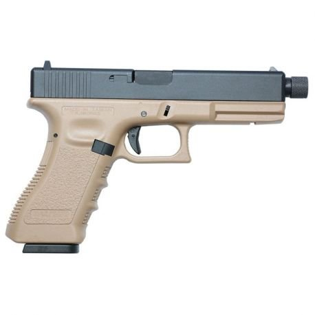 G17 Co2 Blowback Tactique Desert (KJ Works)
