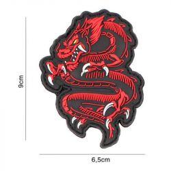 Patch 3D PVC Dragon Rouge (101 Inc)