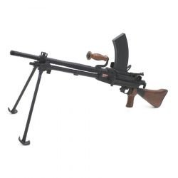 replique-Mitrailleuse Arisaka Type 96 Bois & Metal /w 2 chargeurs supp (S&T) -airsoft-RE-ST00049