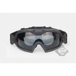 Máscara FMA con ventilación activa negra (101 inc.)