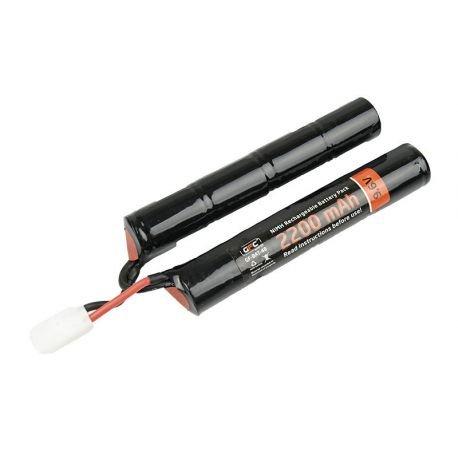 Batterie NiMh 9,6v Double 2200 mAh (GFC)
