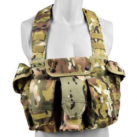 Chest Rig / Chicom M4 Multicam (JS)