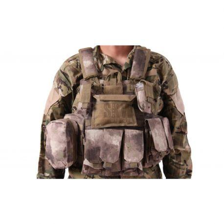 CIRAS MAR Combat w/ 6 Poches A-Tacs (Delta Tactics)