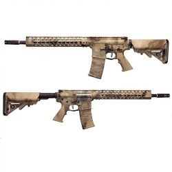 """ASR AR15 12"""" A-Tacs Blowback Metal (APS)"""