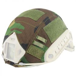 Couvre Casque FAST Woodland (S&T)
