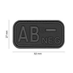 Patch 3D PVC Sanguin AB- Noir(101 Inc)