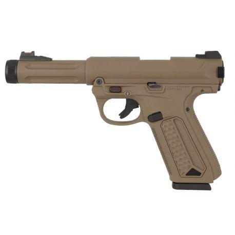Pistolet AAP-01 Assassin Gaz Desert (Action Army)