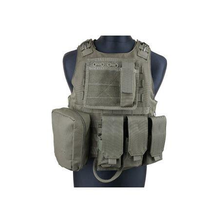 S&T Ciras AAV FSBE w/ 4 Poches OD (S&T / GFC) AC-ST44107/GFT18001010 Gilet & Veste tactique