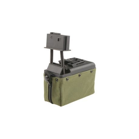 A&K Mini Ammo Box M249 1500 billes Ranger Green