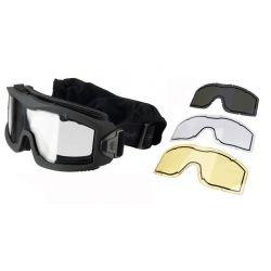 Masque Protection Aéro w/ 3 Verres OD (Lancer Tactical)