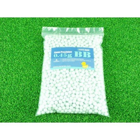 WE Sachet 0,45g de 2000 Billes 8mm (Vanaras) AC-VN8BB45 Billes 8mm