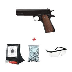 Pack Cadeau M1911 w/ Lunette + Billes + Cible Filet (Galaxy G13) RE-PKG13B07HJ91XCX Accueil