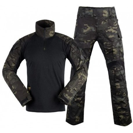 Uniforme Combat Set Gen3 Multicam Black L (DragonPro)