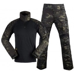 Uniforme Combat Set Gen3 Multicam Black S (DragonPro)