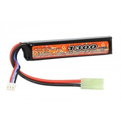 ASG Batterie LiPo 7,4v Stick 1300 mAh Stick (VB Power) AC-VB5820143 Batterie LiPo 7,4v