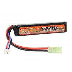 LiPo Battery 7.4v Stick 1300mAh Stick (alimentazione VB)