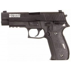 Sig Sauer P226 Navy Pistol Railed Gaz (Cybergun)