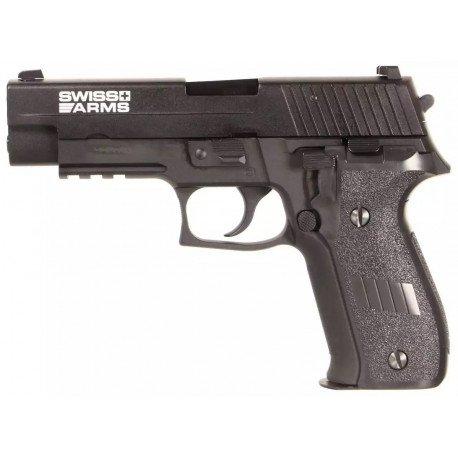Sig Sauer P226 Navy Pistol Railed Gaz (Cybergun)