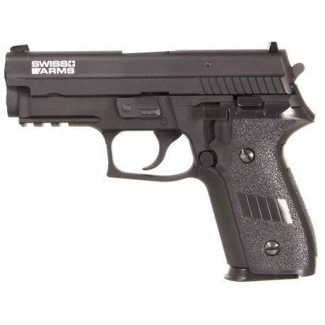 Sig Sauer P229 Navy Pistol Railed Gaz (Cybergun)