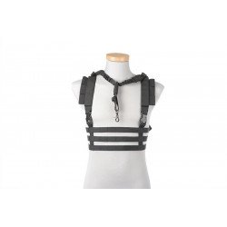 Emerson Chest Rig Low Profile Black