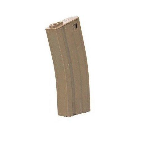 Chargeur M4 Metal 70 Billes Desert (Specna Arms / E&C)