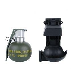 Porte Grenade Rigide Molle Noir w/ Grenade (WS)