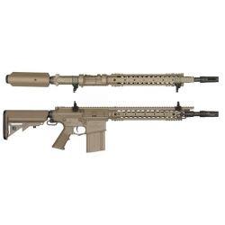 SR25 M110K Long w/ EFCS Desert (Ares)