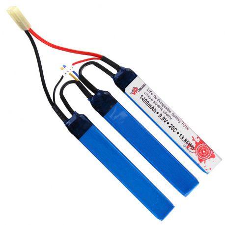 Batterie LiFe 9,9v Triple 1400 mAh (101 INC)