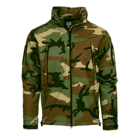 Veste Soft Shell Woodland Taille S (101 Inc)