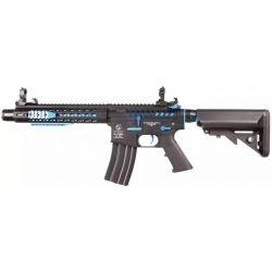 replique-Colt M4 Blast Blue Fox Full Metal Bleu (Cybergun) -airsoft-RE-CB180771