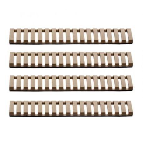 Cache Rail (4 pcs) Soft Cover Set Desert (G&G)