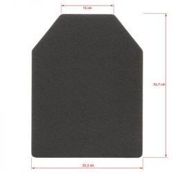 Placa blanda mediana SAPI (Emerson - Se vende individualmente)