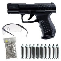 PACK P99 DAO C02 WALTHER UMAREX HC-PKP99BK Pack