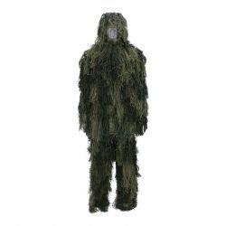 Juego de camuflaje Ghillie / 4 piezas Woodland (101 Inc)