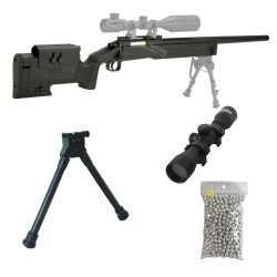 Pack M62 Sniper Double Eagle Style M40a3 1.9 Joules HC-PKPACKM62 Pack