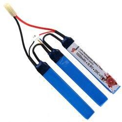 Batterie LiFe 9,9v Triple 1000 mAh (101 INC)