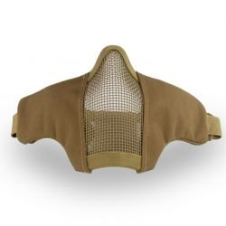 Demi-masque de protection Stalker Evo Coyote (Cybergun) HC-ACCYB604534 Masque grille
