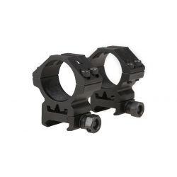 Anneau Bas 30mm (Set 2pcs) Noir (Theta Optics) AC-THO09011616 Accessoires