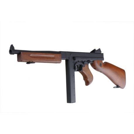 Thompson M1A1 Military Metal (Snow Wolf)