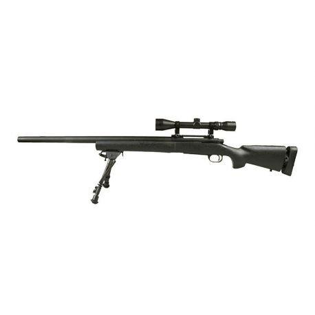 Sniper M24 Noir w/ Lunette & Bipied (Snow Wolf)