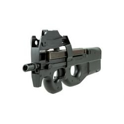FN Herstal P90 w/ Red Dot Noir (Swiss Arms 200994)