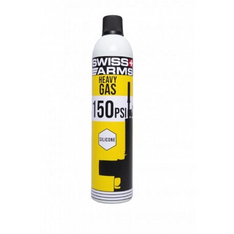 Bouteille Gaz 150 PSI Heavy Silicone (Swiss Arms)