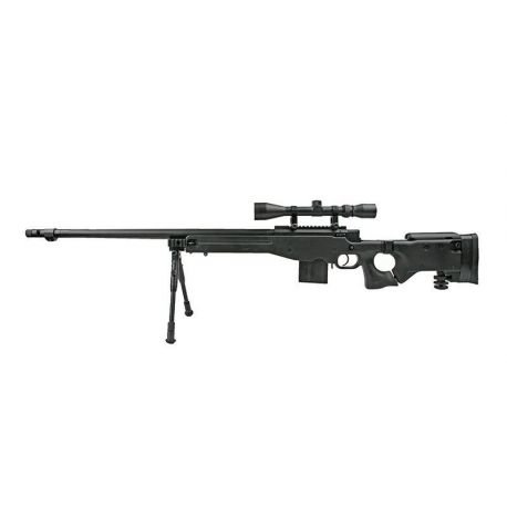 replique-Sniper MB4403D w/ Lunette & Bipied (Well) -airsoft-RE-WLMB4403D